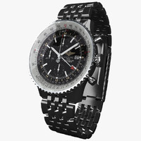Breitling Navitimer World B-virtual 3d model